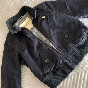 Abercrombie and Fitch bomber jacket
